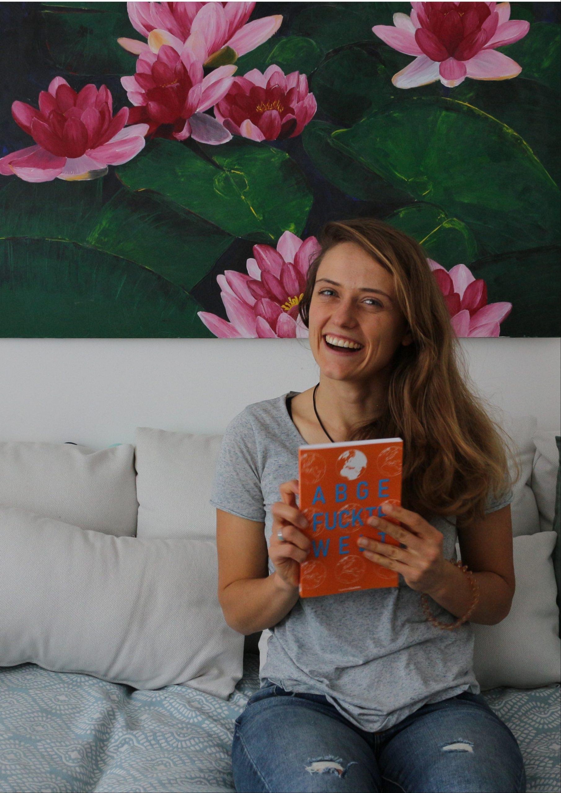 Autorin Sarah Stano Buch Abgefuckte Welt